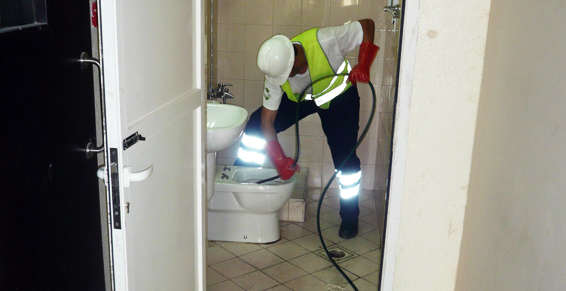 Débouchage de toilettes